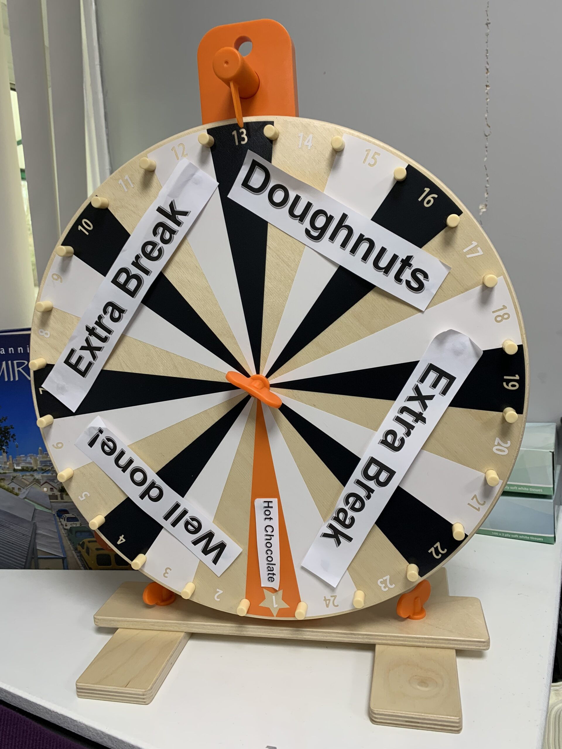 Wheel of Recognition